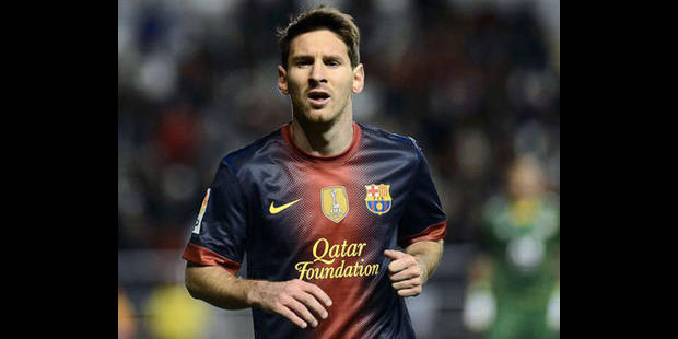 Messi chatouille Pel�