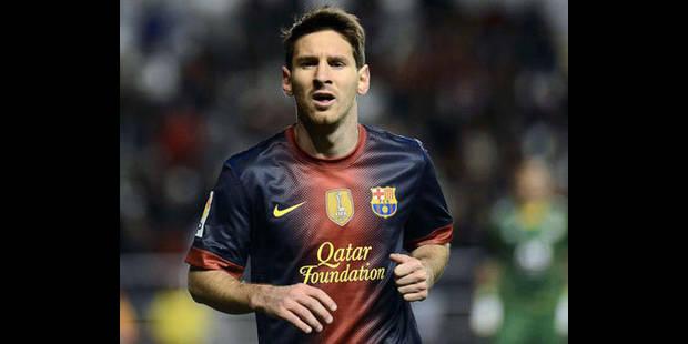 Messi chatouille Pelé