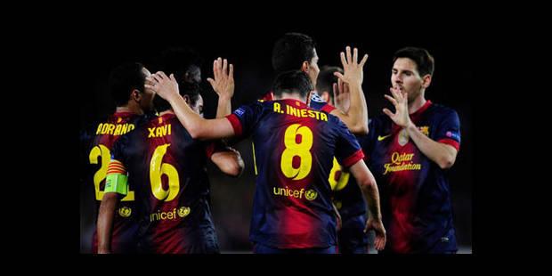 Le Barça au bout du suspense, Chelsea battu à Donetsk - La DH