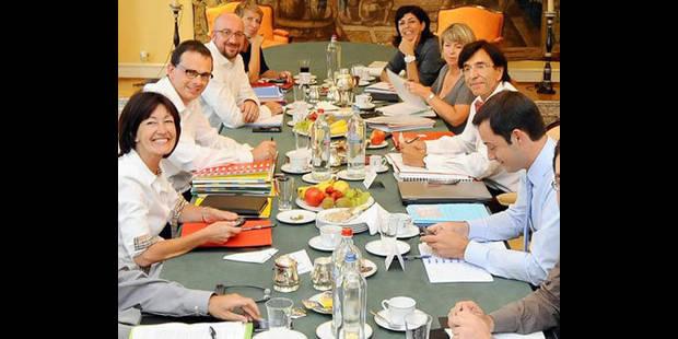 Les présidents de partis francophones sollicitent la Commission Wallonie-Bruxelles - La DH