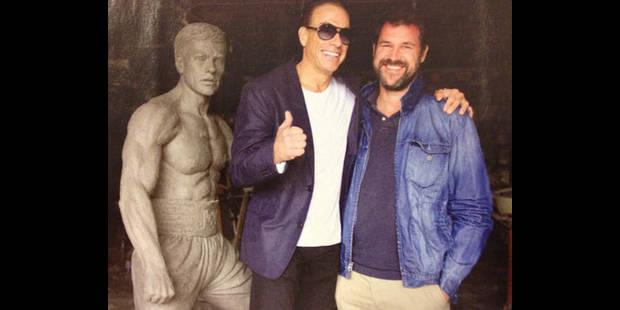 Van Damme bientôt érigé en statue à Anderlecht