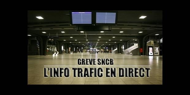 Grève sur le rail, circulation dense mais pas de pagaille sur nos routes - La DH