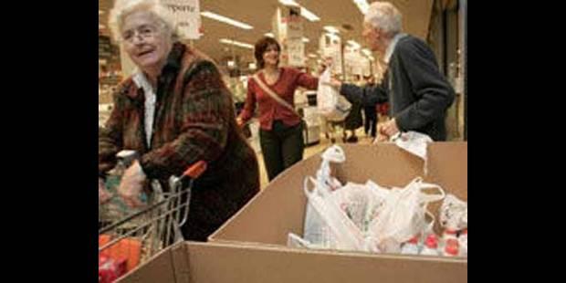 Les banques alimentaires au secours des Belges