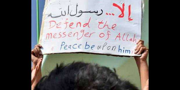 Film anti-islam : trois arrestations à Bruxelles