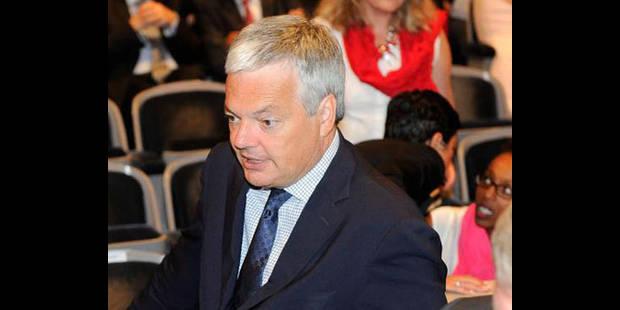 "Reynders : ""Pas question d'accepter Canan Kir au MR"""