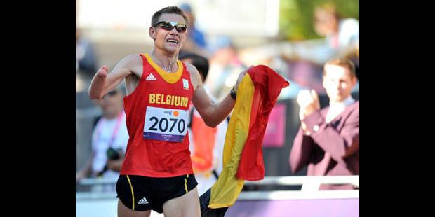 Paralympiques: Frederic Van den Heede médaillé de bronze au marathon - La DH