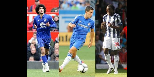 Fellaini, Hazard, Lukaku, stars de la saison en Premier League ?