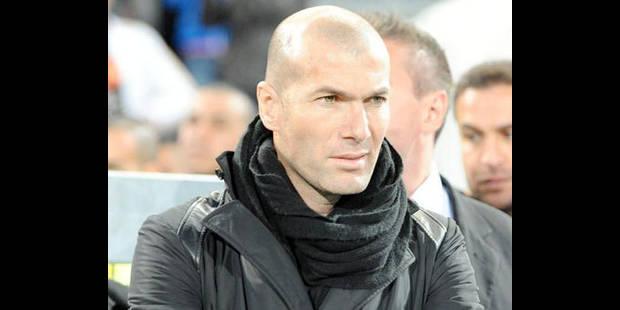 Zidane devient prof particulier