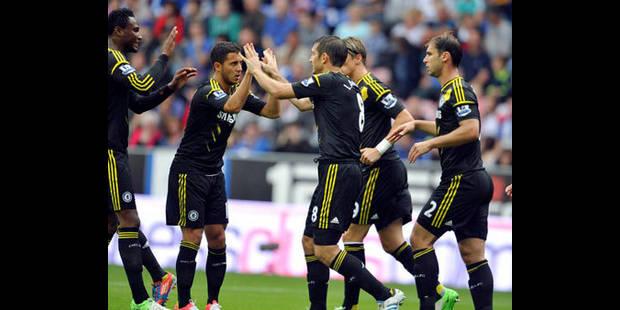 Hazard déjà décisif dans la victoire de Chelsea à Wigan (0-2) - La DH