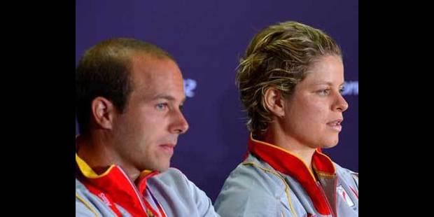Pas de double mixte pour Clijsters et Rochus - La DH