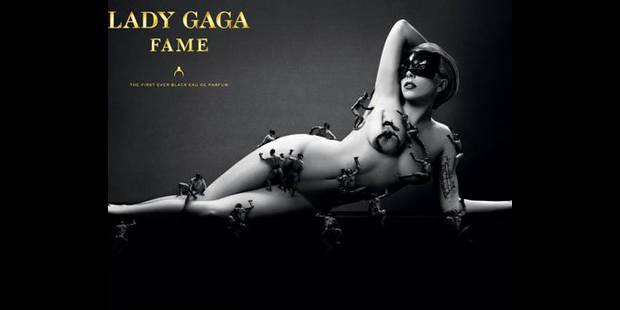 Lady Gaga pose nue!