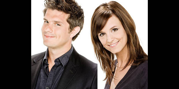 Benjamin Deceuninck / Elodie de Sélys: nouveau couple de la RTBF - La DH