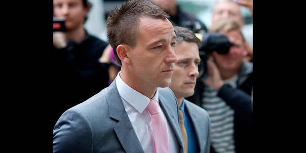 Début à Londres du procès pour insultes racistes de John Terry - La DH