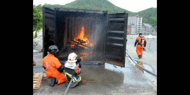 Ce sont les pompiers  de demain - La DH