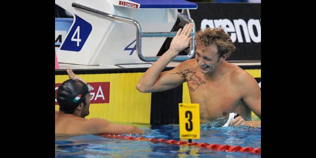 Dieter Dekoninck et Pieter Timmers en finale du 100m nage libre - La DH