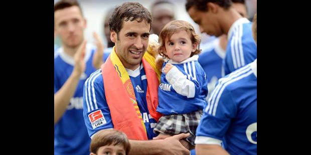 Raul marque un dernier but pour ses adieux � Schalke