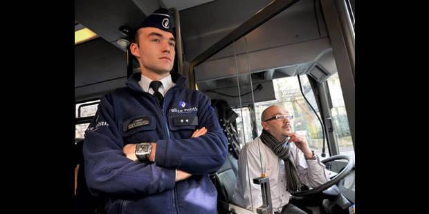 Les arrestations dans les transports en communs bruxellois en nette hausse - La DH
