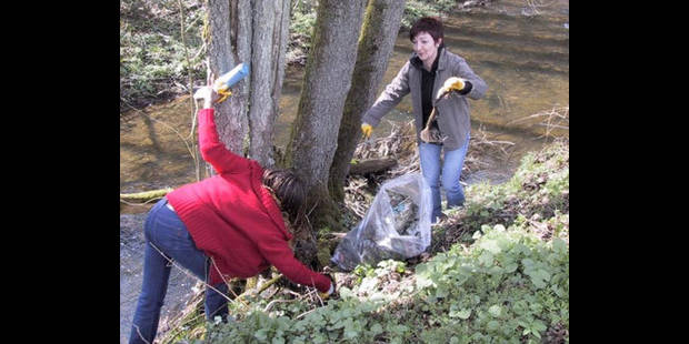 Nettoyage de printemps : 11.800 b�n�voles