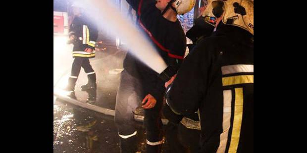 Incendie dans un entrepôt de Gilly - La DH