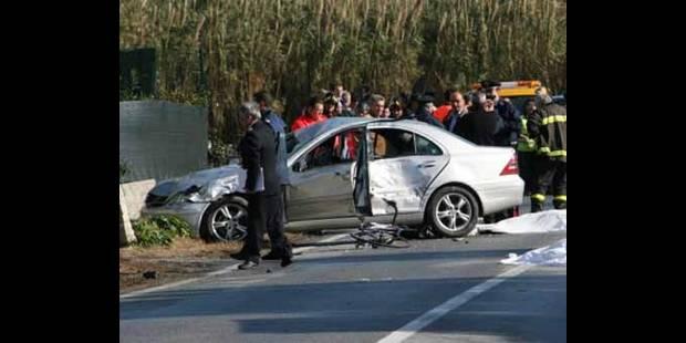 Le taux d'accidents mortels en hausse en Belgique - La DH