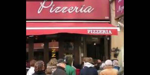 374 personnes entrent dans une pizzeria en même temps - La DH
