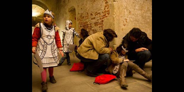 Jouer au chevalier  dans le palais de Charles-Quint - La DH