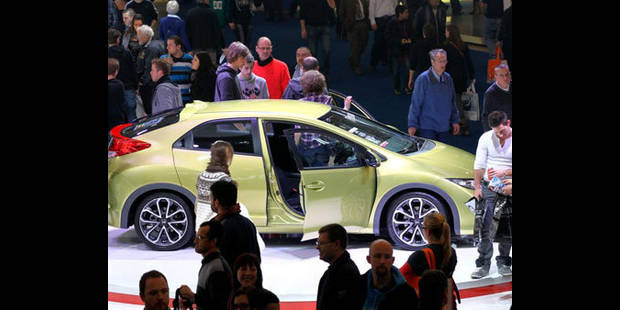 Le Salon de l'Auto 2012 a attiré quelque 561.000 visiteurs - La DH