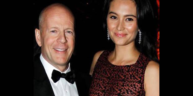Bruce Willis et son épouse Emma Heming Willis attendent leur premier enfant - La DH