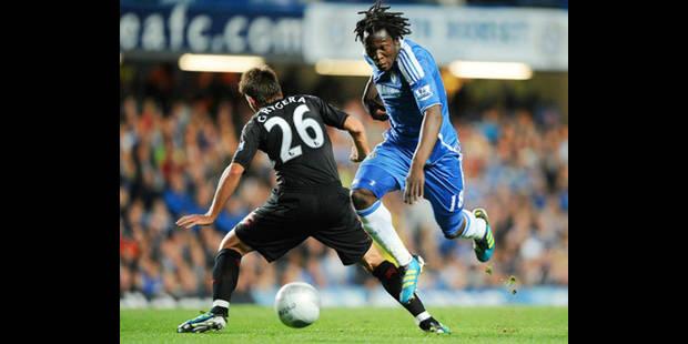 Romelu Lukaku inscrit son premier but avec Chelsea