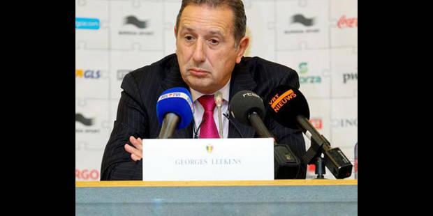 """Leekens : """"Penser déjà à l'Allemagne serait une bêtise"""" - La DH"""