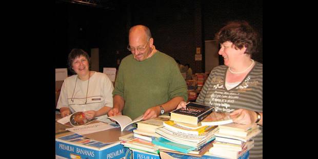 La Croix-Rouge vend ses livres - La DH
