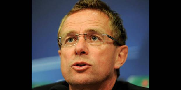 Malade, Ralf Rangnick arrête d'entraîner Schalke 04 - La DH