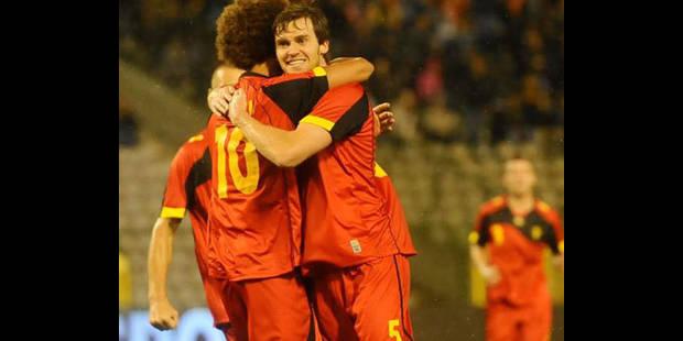 La Belgique gagne trois places au classement FIFA - La DH