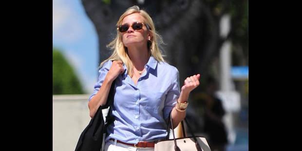 L'actrice Reese Witherspoon renversée par une voiture pendant son jogging