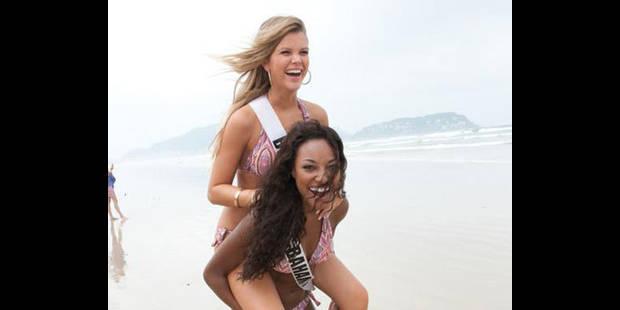 Miss Belgique poursuit  ses aventures brésiliennes