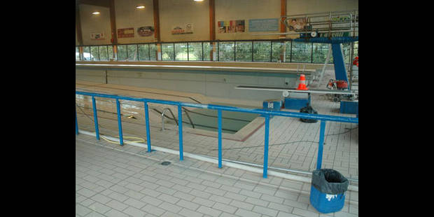 Plus d eau non plus la piscine for Construction piscine brabant wallon