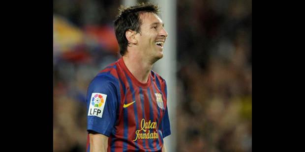 L'Argentin Lionel Messi (Barcelone) élu meilleur joueur européen de l'année