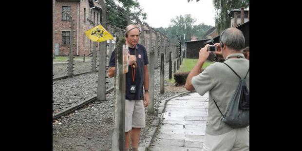 Un lion nationaliste à Auschwitz