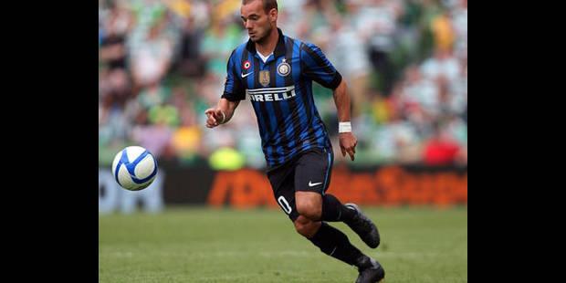 Sneijder ne ferme pas la porte à Manchester United - La DH