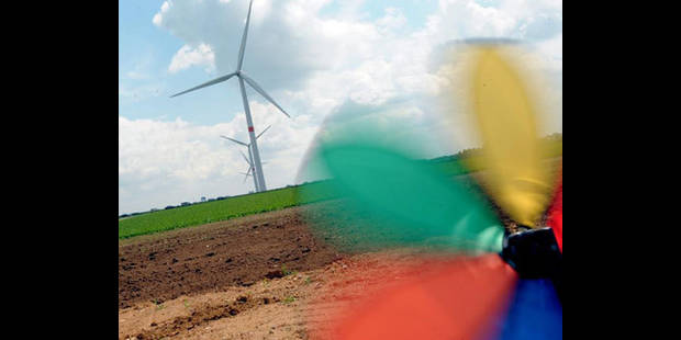 8 éoliennes seront érigées dans le Condroz à Tinlot - La DH