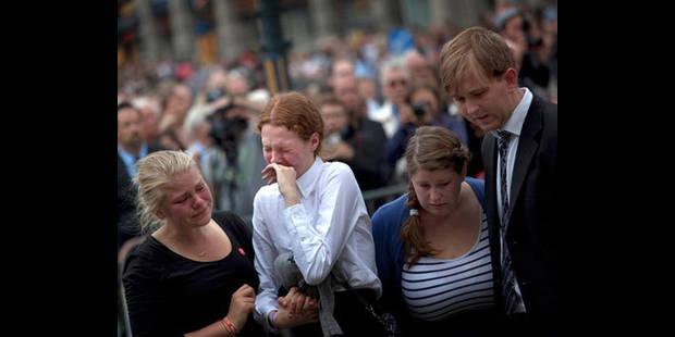 La Norvège honore ses morts - La DH