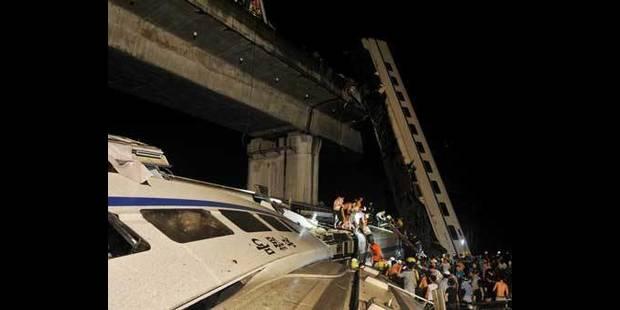 Accident de train en Chine: 35 morts, 210 blessés - La DH