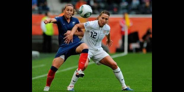 Mondial féminin - Etats-Unis battent France 3 à 1 et vont en finale