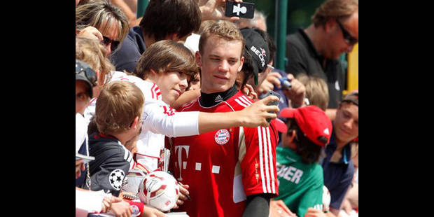 Le gardien de but Manuel Neuer n'est pas le bienvenu auprès des supporters du Bayern - La DH