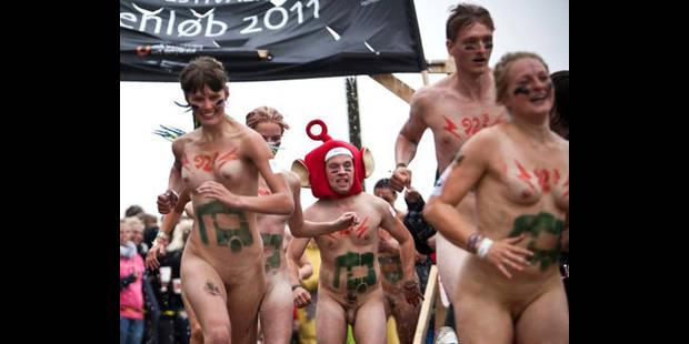 Course de tout nus au festival de Roskilde