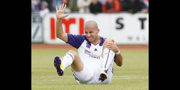 Guillermo Molins indisponible pour Anderlecht durant plusieurs mois - La DH