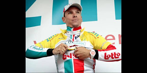 Philippe Gilbert remporte le classement final du Ster ZLM Toer