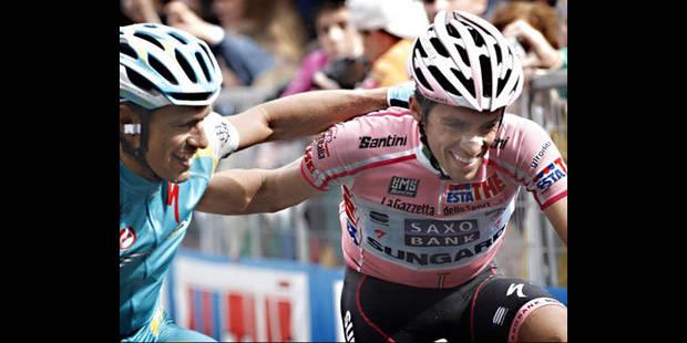 Contador joue à saint Nicolas - La DH