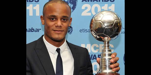 Kompany élu Joueur de l'année à Manchester City - La DH