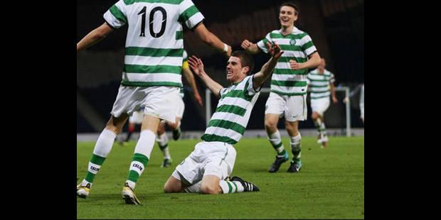 Le Celtic Glasgow remporte la Coupe d'Ecosse